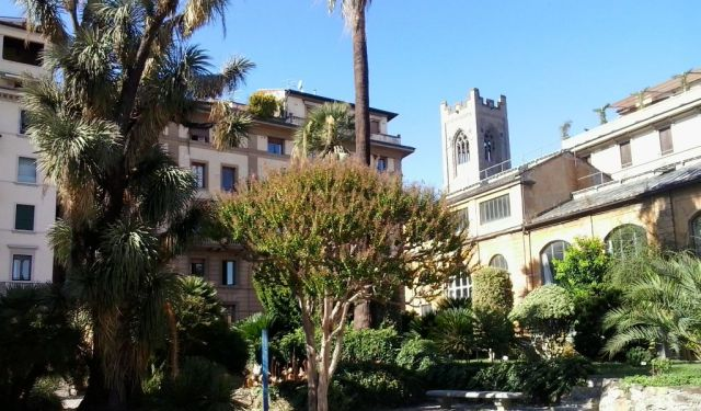 A Lost Church and the Botanical Garden in Florence
