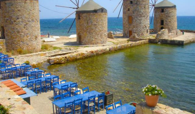 Greek Islands: Chios Restaurants