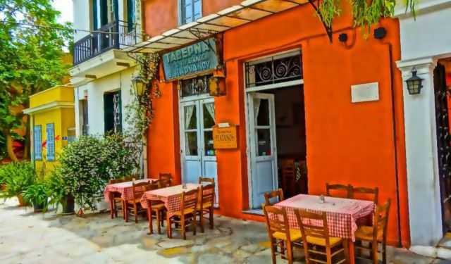 Restaurants in the Plaka