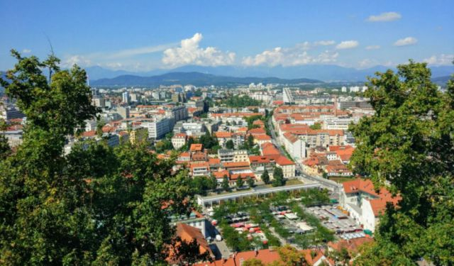 Exploring Ljubljana on One Hot, Summer Day