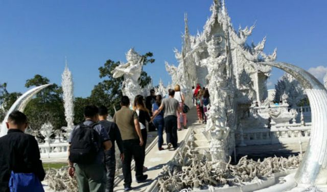 White Temple at Chiangrai