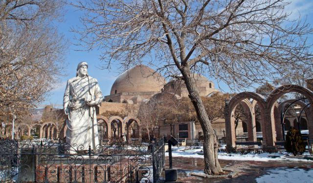 Wintery Days in the Northerly City of Tabriz