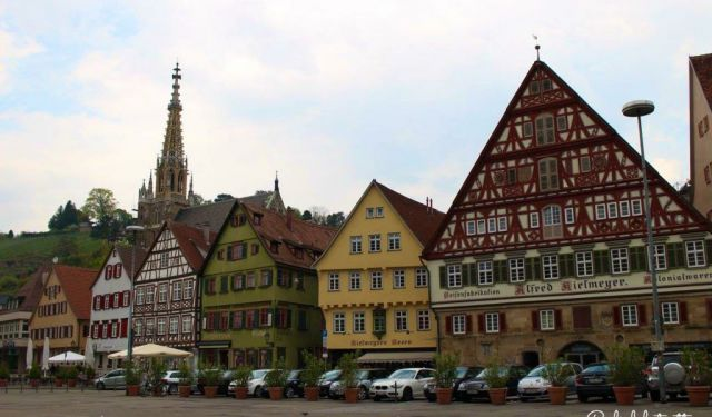 The Medieval Wine Town of Esslingen Am Neckar