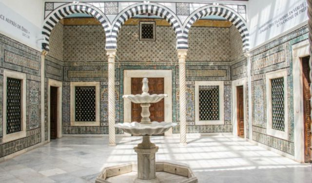 Bardo Museum in Tunis, Palace, Parliament and Poet