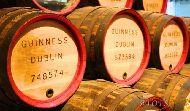 A visit to Guinness Storehouse – Home of the Black Stuff!