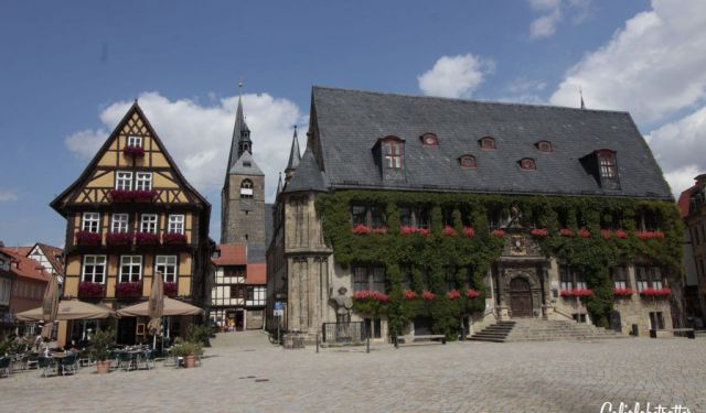 Quedlinburg: A Medieval Half-Timbered Town