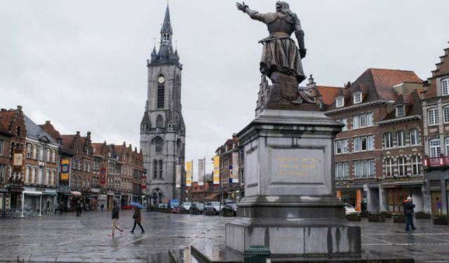 Making the Most of A Rainy Day Visiting Tournai, Belgium