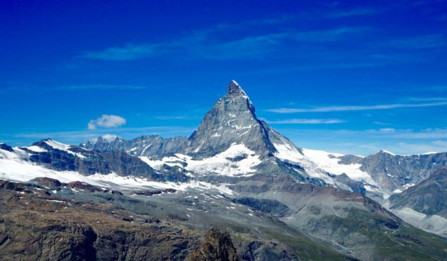 Meeting the Matterhorn in Zermatt