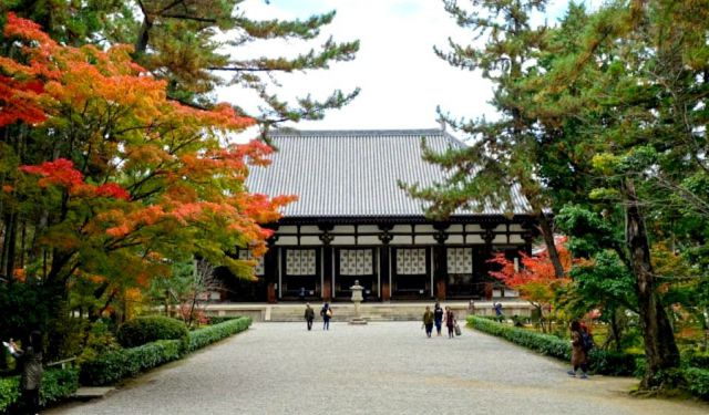 Yakushiji, Toshodaiji, and Heijo Palace Site in Nara City
