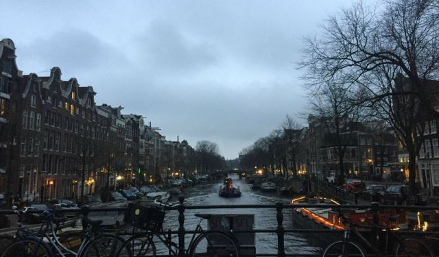 Amsterdam at Night and Favourite Haunts