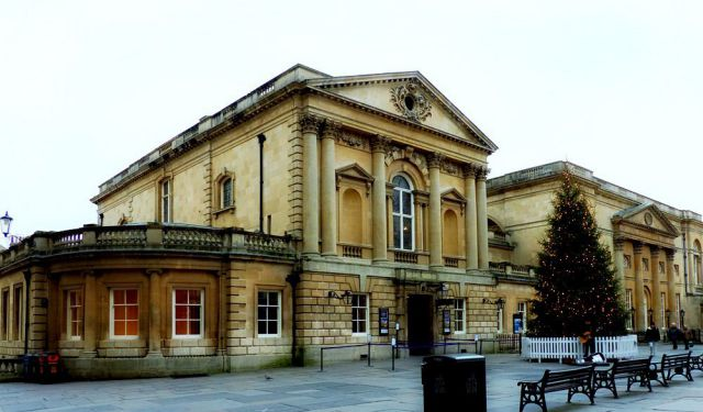 Roman Spa and Hot Springs of Bath
