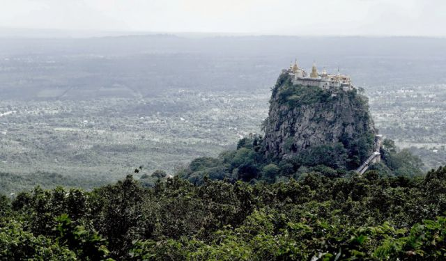 Mount Popa - Olympus of Burma