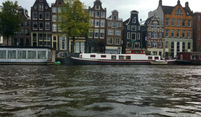 Amsterdam From the Water