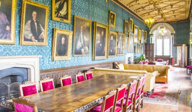 A Palace Fit for a Bishop in the English City of Wells