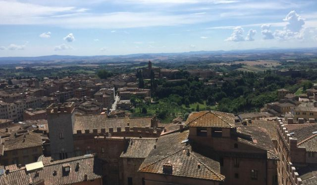 Siena 2018: Spiral Stairs and Magnificent Views