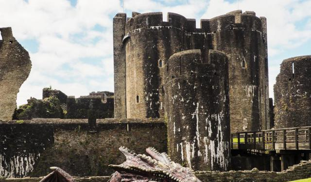 Caerphilly - The Largest Castle in Wales