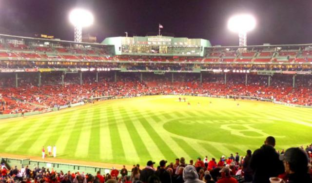Celebrating the Red Sox on a Fenway Park Tour