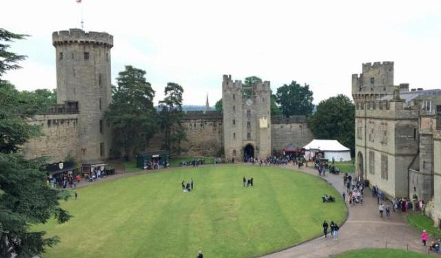 Warwick Castle with Kids