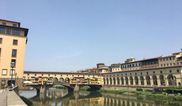 A Morning Walk in Florence