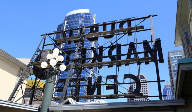 Backside of Pike Place Market