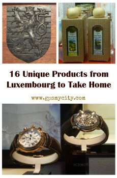 16 Unique Products from Luxembourg to Take Home