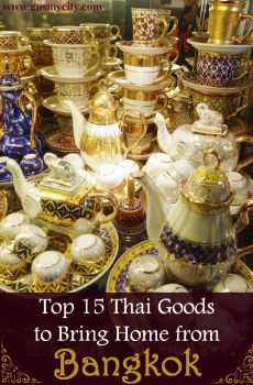 Top 15 Goods to Bring Home from Bangkok