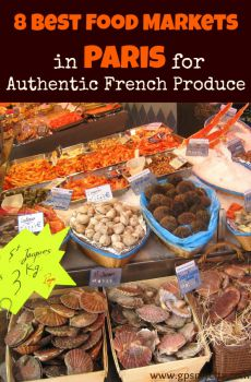 Paris: Best Food Markets