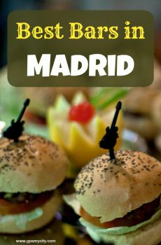 Top 16 Bars in Madrid