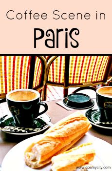 Coffee Scene in Paris