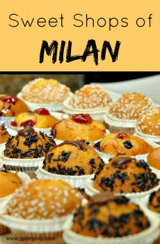 Sweet Shops of Milan