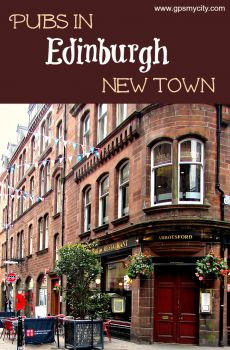 Pubs in Edinburgh New Town