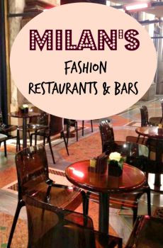 Milan's Fashion Restaurants & Bars