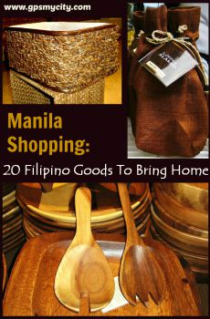 Manila Shopping: 20 Filipino Goods To Bring Home