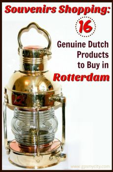 Souvenirs Shopping: 16 Genuine Dutch Things to Buy in Rotterdam