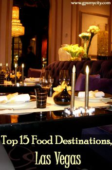 Top 15 Food Destinations, Las Vegas