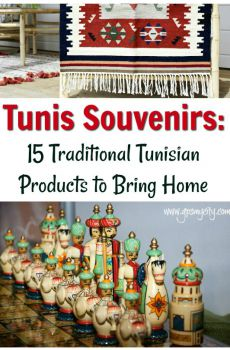 Tunis Souvenirs: 15 Authentic Tunisian Products for Avid Traveler