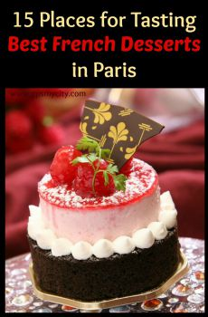Astonishing 15 Places For Tasting Best French Desserts In Paris Personalised Birthday Cards Veneteletsinfo