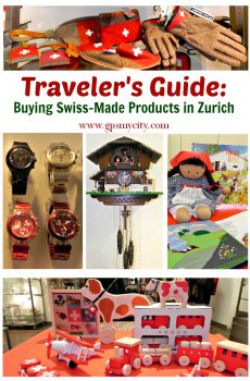 Traveler's Guide: Buying Swiss-Made Products in Zurich