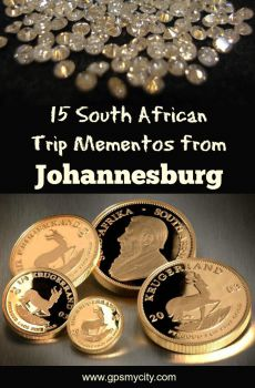 15 South African Trip Mementos from Johannesburg