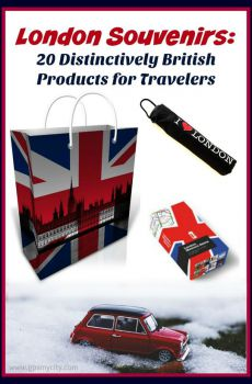 London Souvenirs: 20 Distinctively British Products for Travelers
