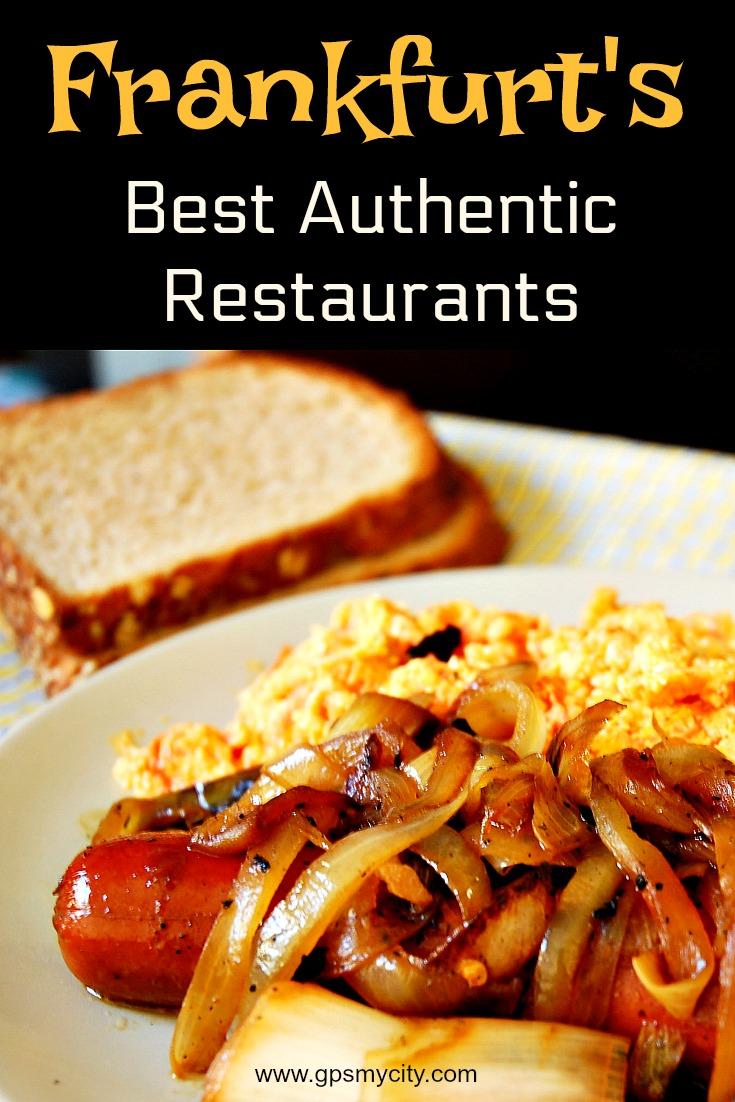 Frankfurt\'s Best Authentic Restaurants