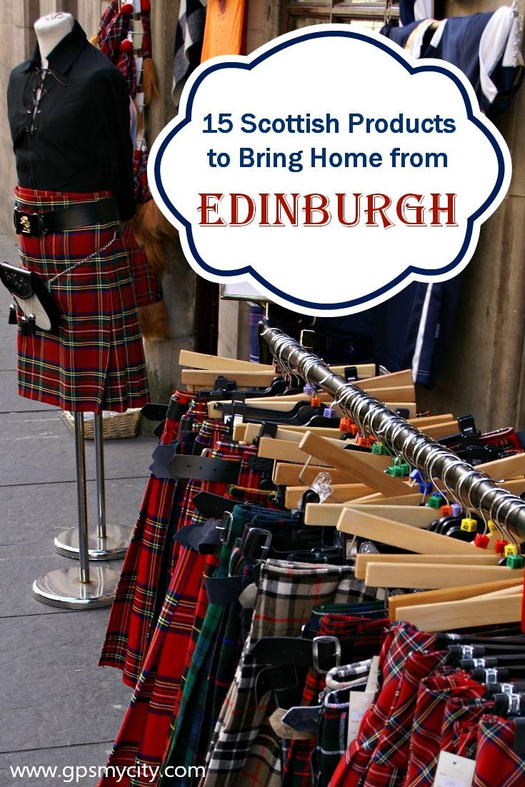 Scottish Souvenirs: 15 Authentic Scottish Things to Buy in Edinburgh