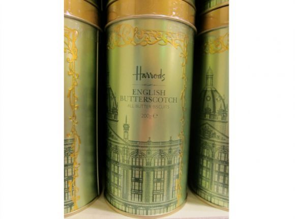 Harrods English Butterscotch Biscuits (Cookies)