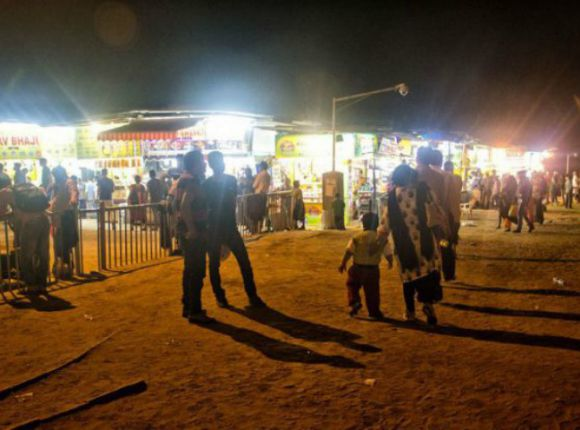 Juhu Beach Food Stalls