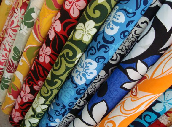 Hawaiian Print Fabric