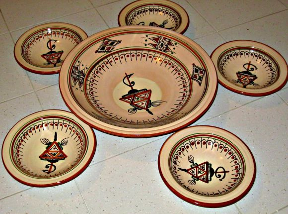 Handmade Ceramic Plates. Tunisia ... & Tunis Souvenirs: 15 Authentic Tunisian Products for Avid Traveler