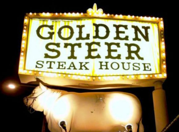 Golden Steer - The Strip