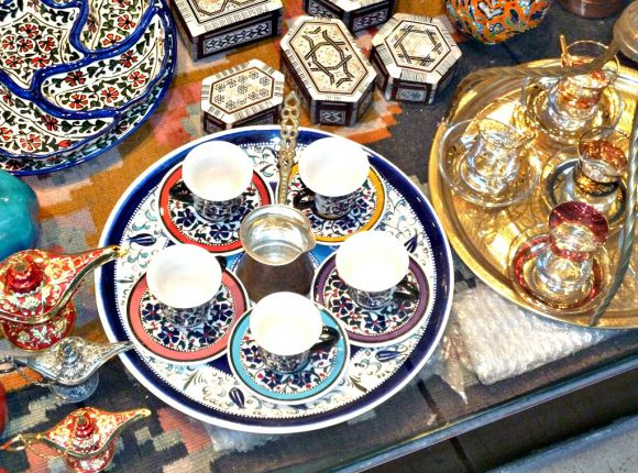 Turkish Coffee Set : turkish tableware - pezcame.com