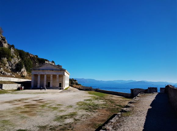 Explore the Historic Old Fortress Corfu Town