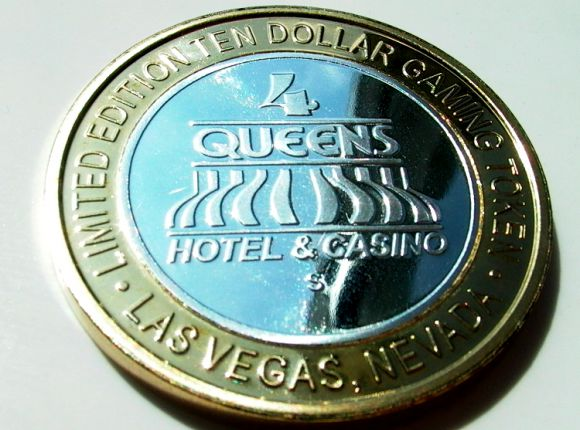 $10 Silver Strike from the Four Queens Hotel and Casino